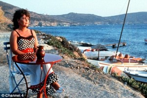 Shirley Valentine On The Beach