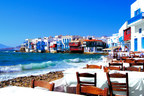 Mykonos Is The Filming Location Of The Movie, U201cShirley Valentineu201d. When You  First See Mykonos, You Spot The Snow White Homes And Churches With Their  Blue ...
